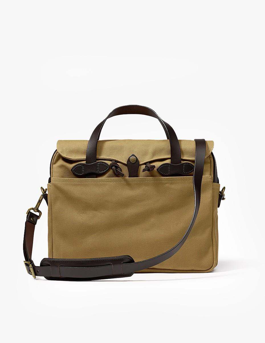 Filson Original Briefcase in Dark Tan