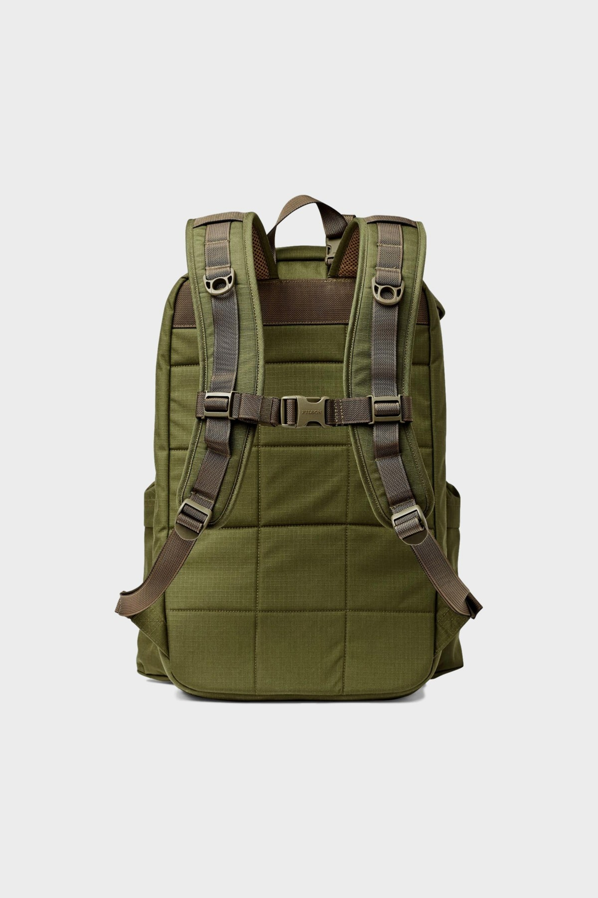 Filson Ripstop Nylon Backpack in Surplus Green