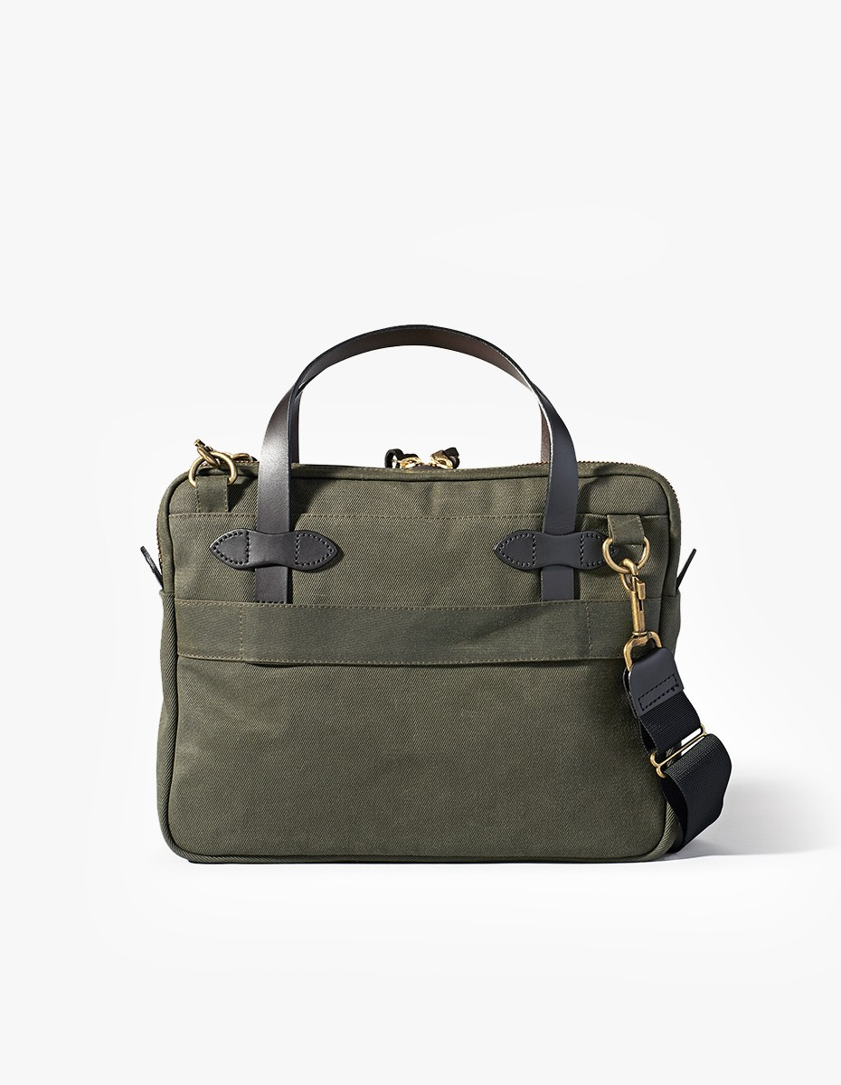 Filson Tablet Briefcase in Otter Green