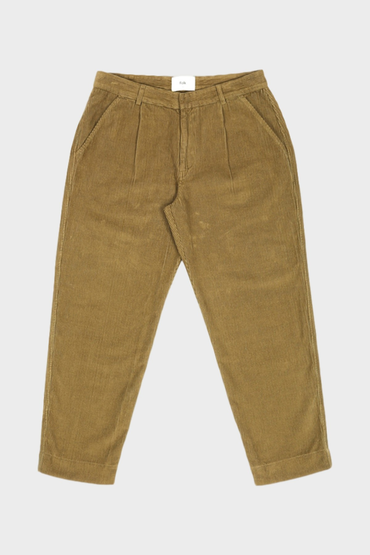 Folk Signal Pants in Tobacco