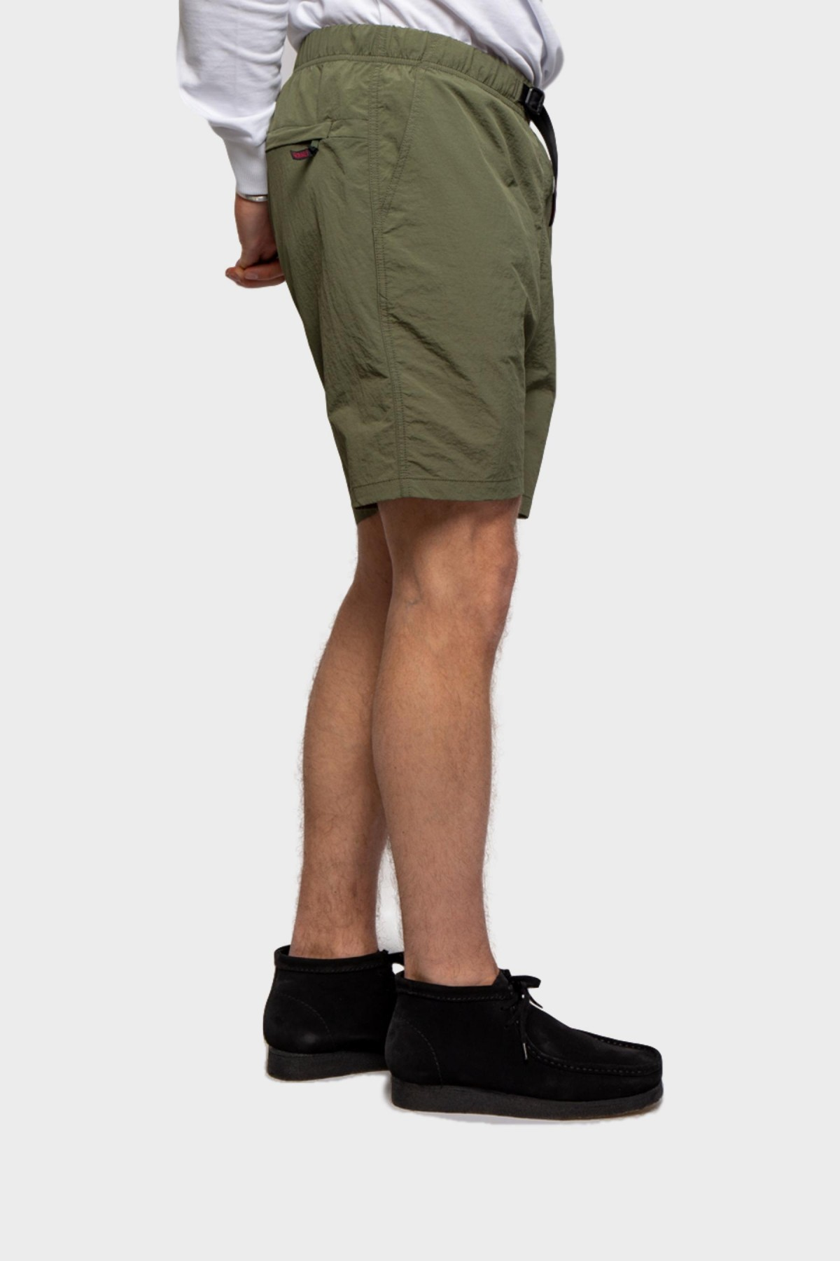 Gramicci Shell Packable Shorts in Olive