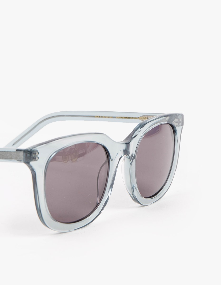 Han Kjøbenhavn Ace Sunglasses in Transparent Grey