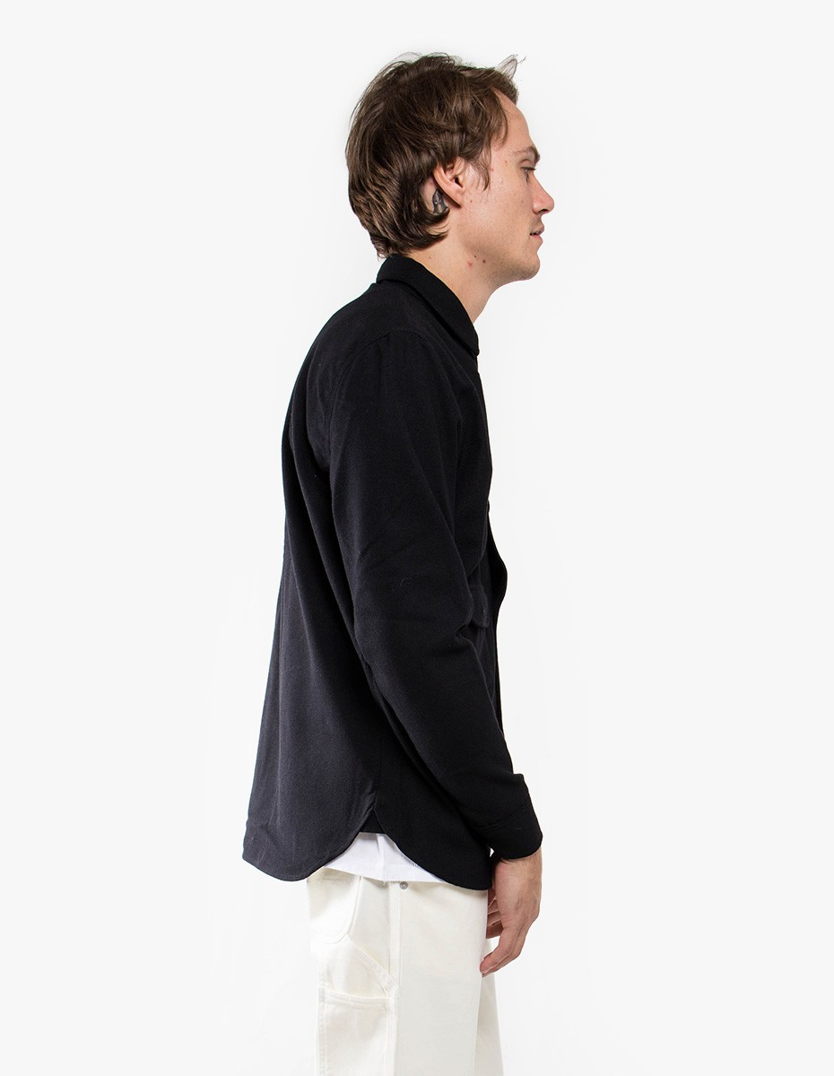 Han Kjøbenhavn Army Shirt in Black Wool