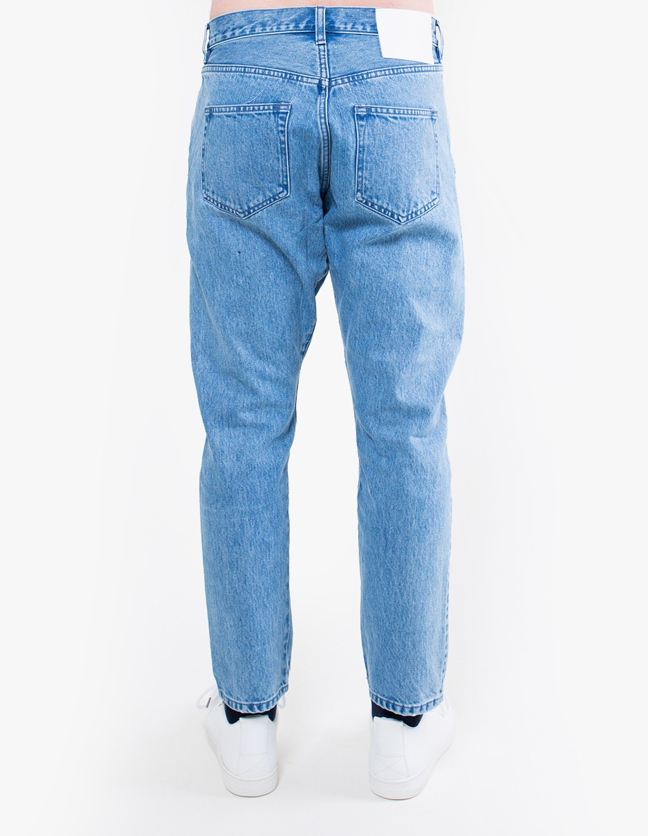 Han Kjøbenhavn Drop Crotch Denim in Heavy Stone