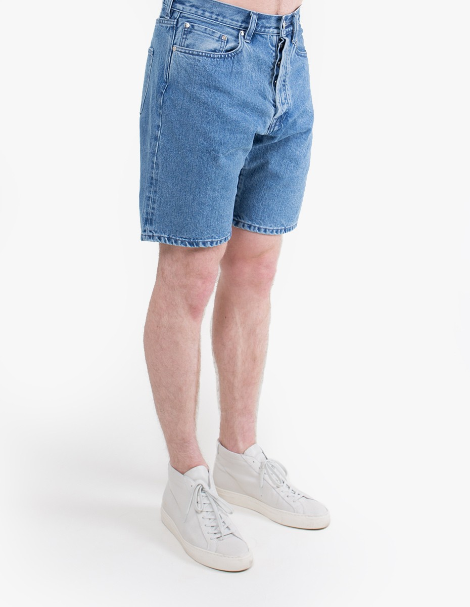 Han Kjøbenhavn Drop Crotch Shorts in Heavy Stone