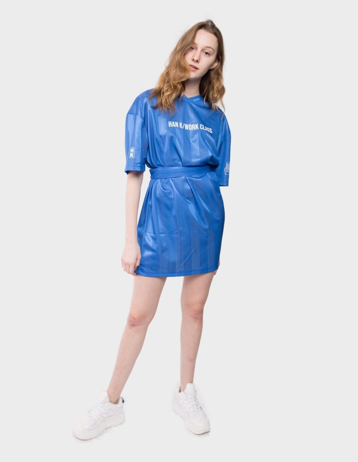 Han Kjøbenhavn Sport Tee Dress in Blue