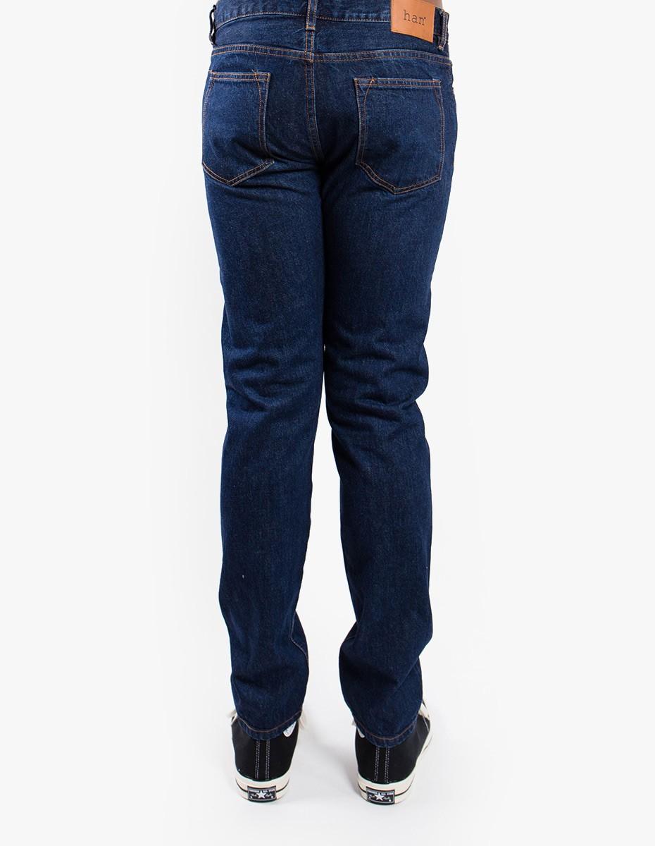 Han Kjøbenhavn Tapered Jeans in Medium Blue