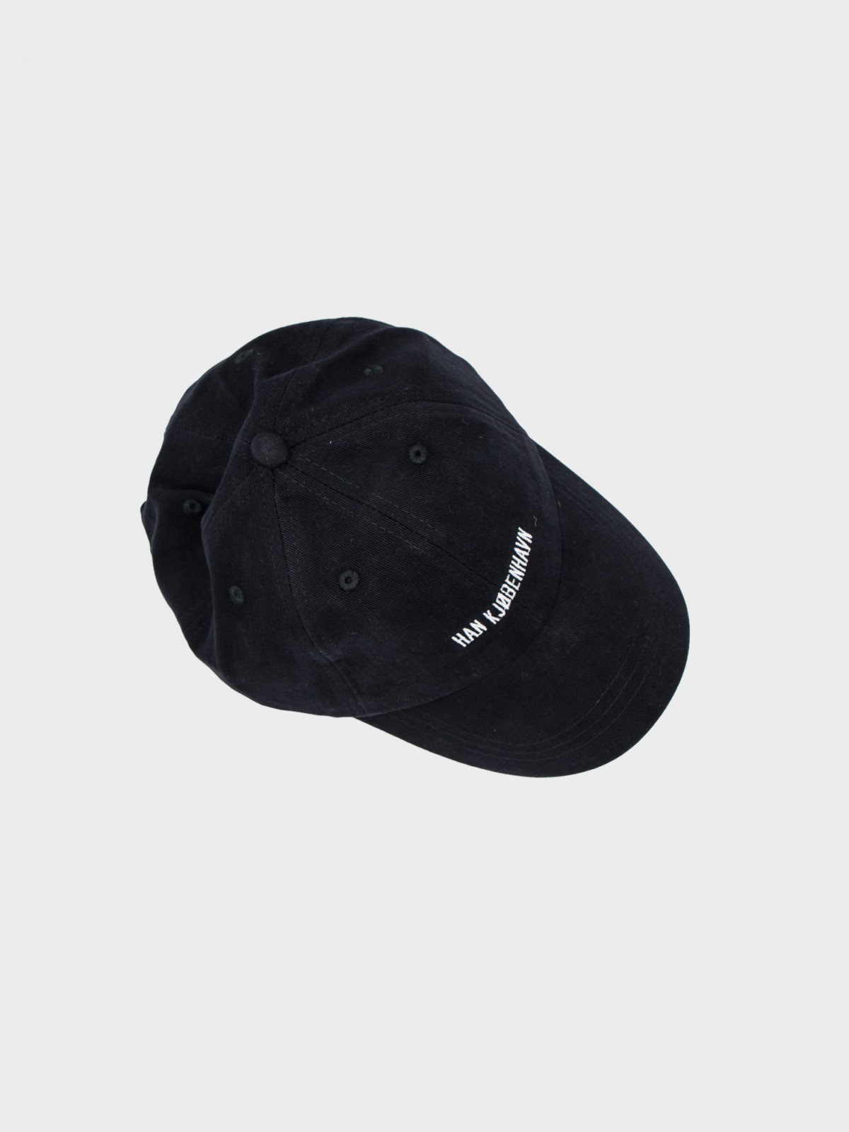 Han Kjøbenhavn Cotton Cap in Black