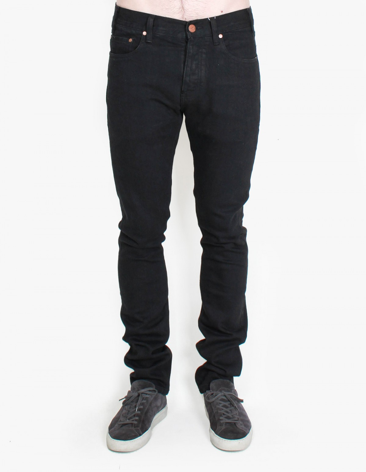 Han Kjøbenhavn Lean Fitted Denim in Black Stretch