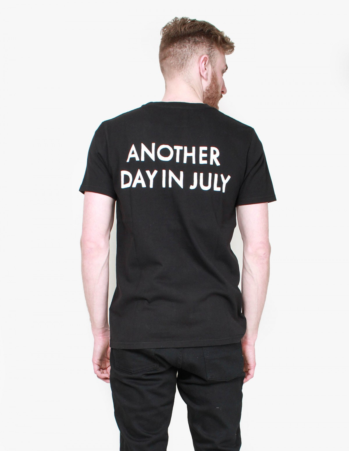 Han Kjøbenhavn Another Day in July Tee in Black