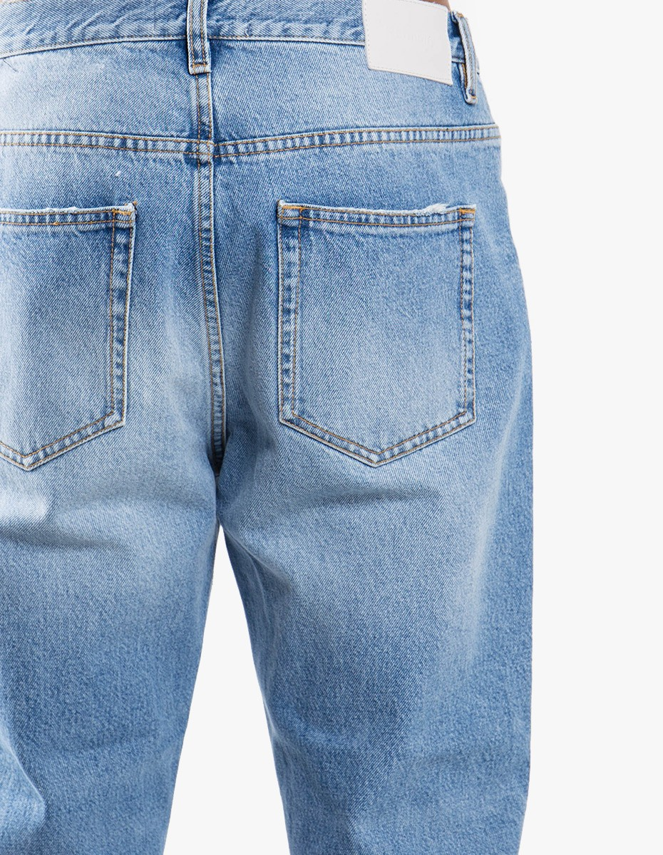 Harmony Dorian Jeans in Stone Washed