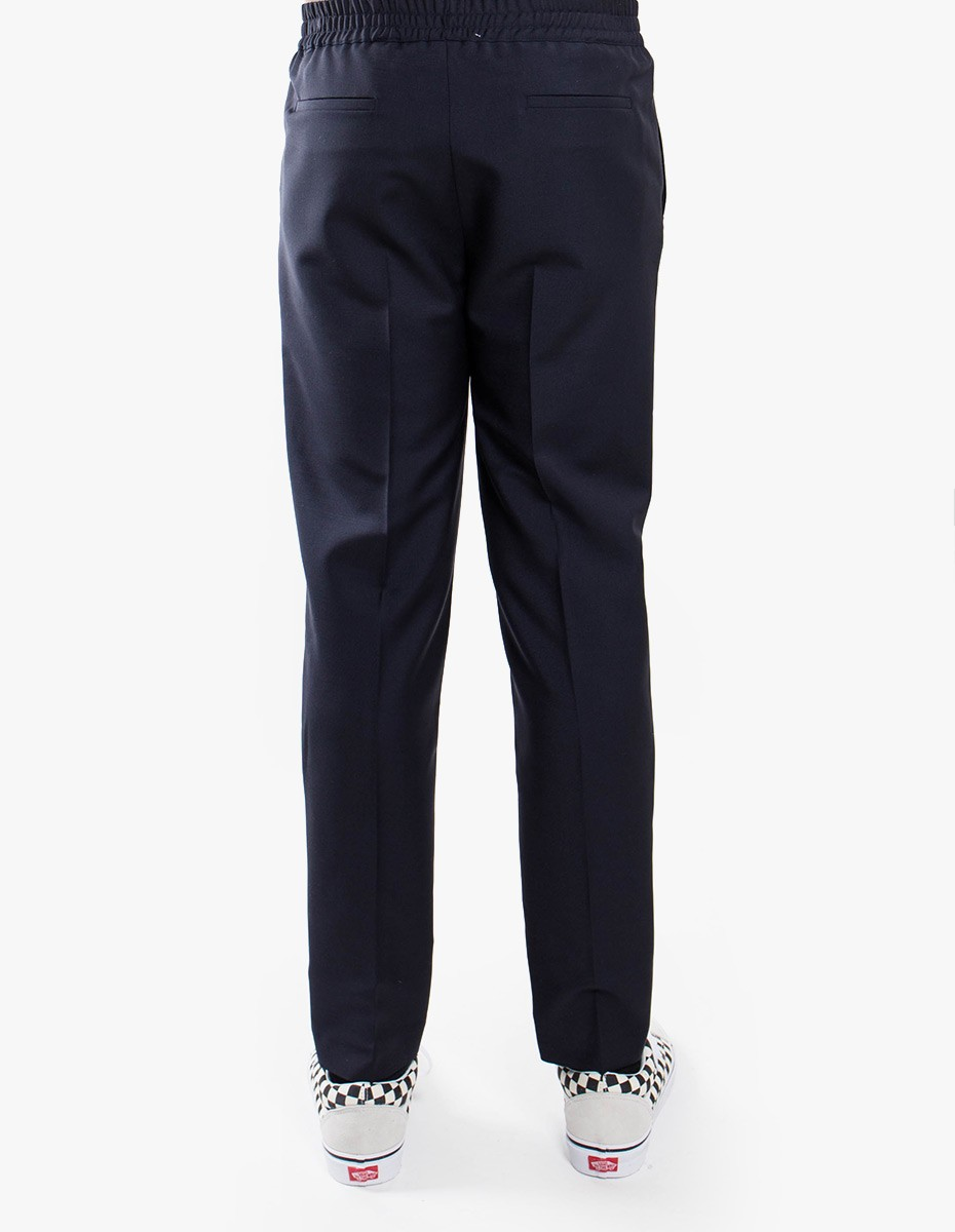 Harmony Paolo Trousers Mohair in Navy