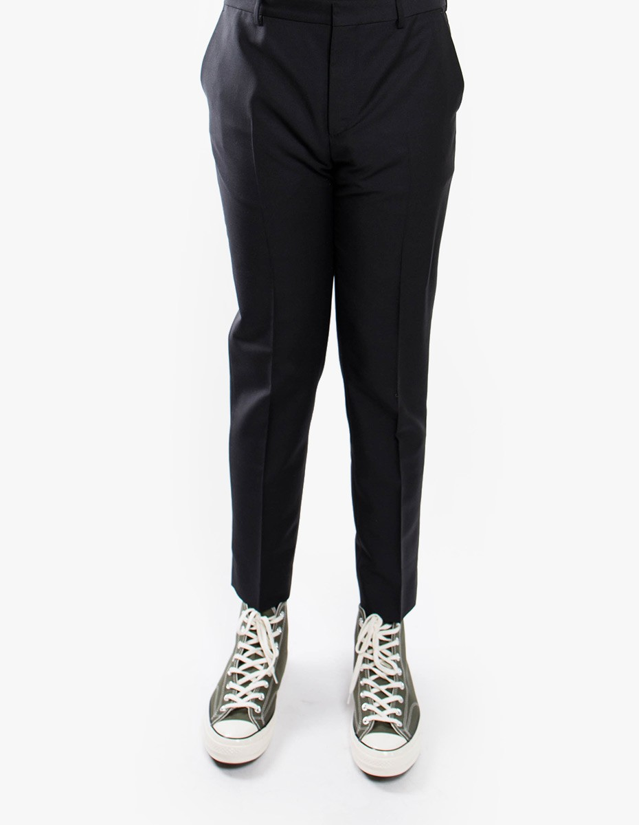 Harmony Peter Trousers Mohair in Black