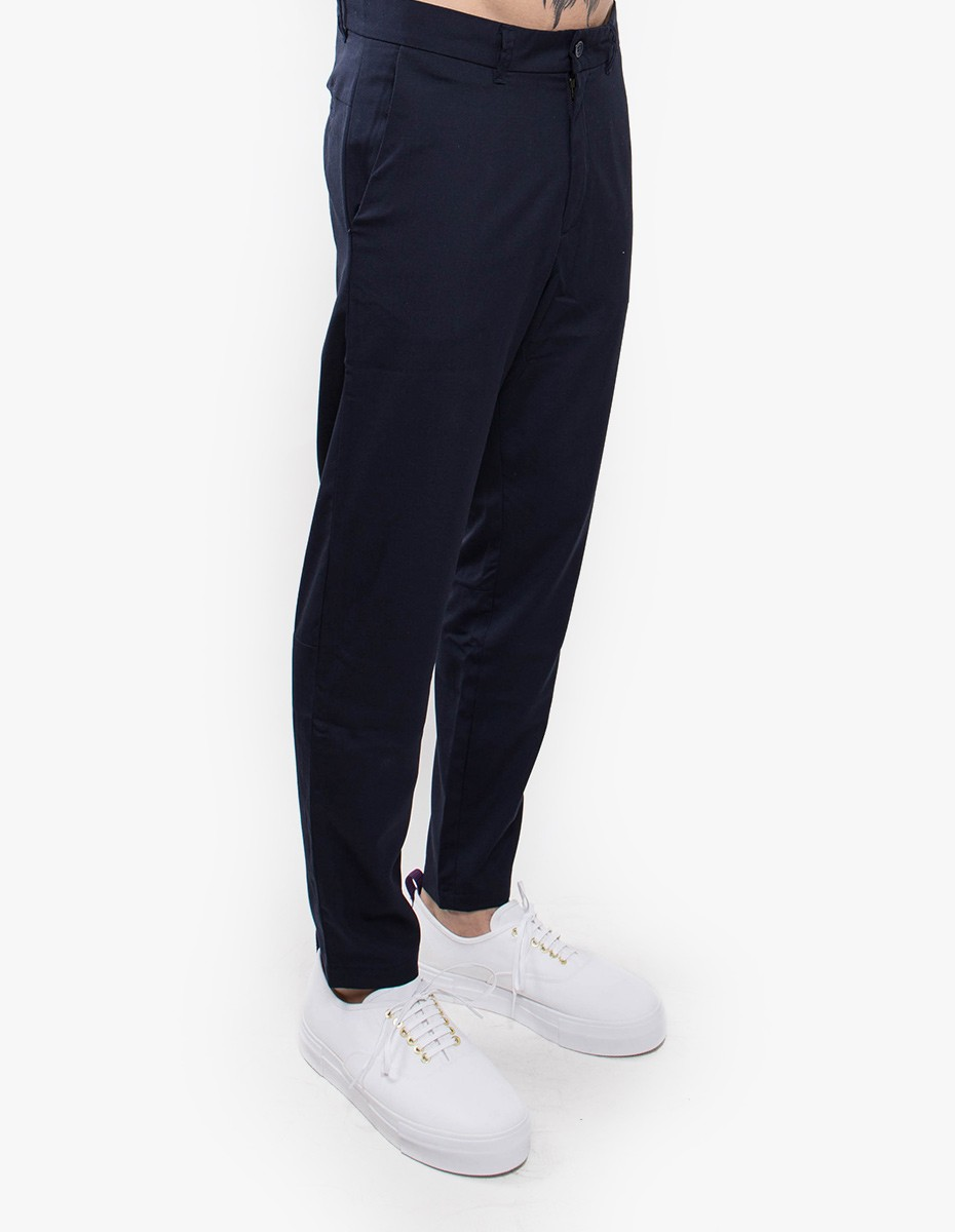 Holzweiler Going Tropical Pant in Navy