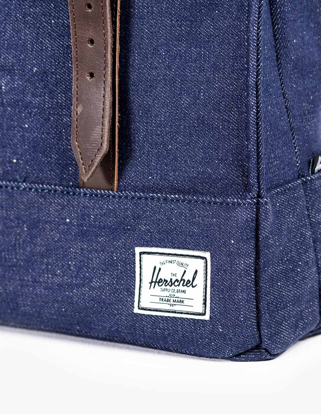 Herschel Supply Survey Canvas in Navy Indigo Denim