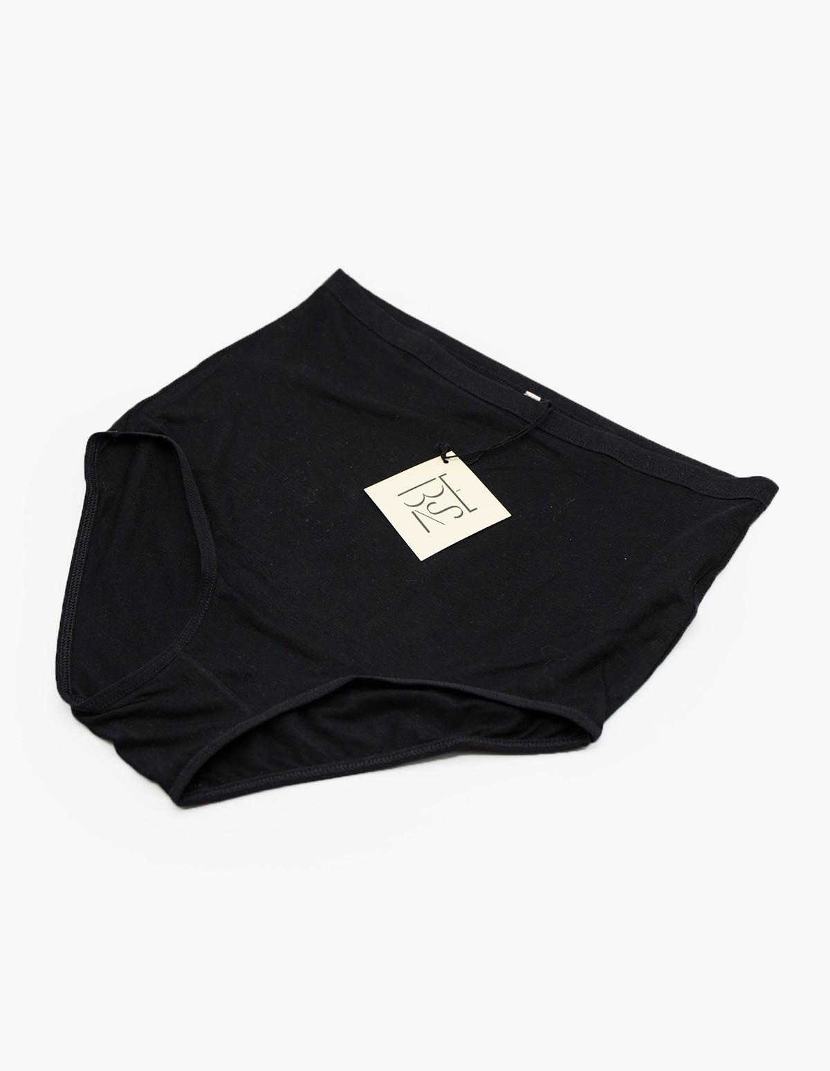 Baserange Highwaist Bell Pants in Black
