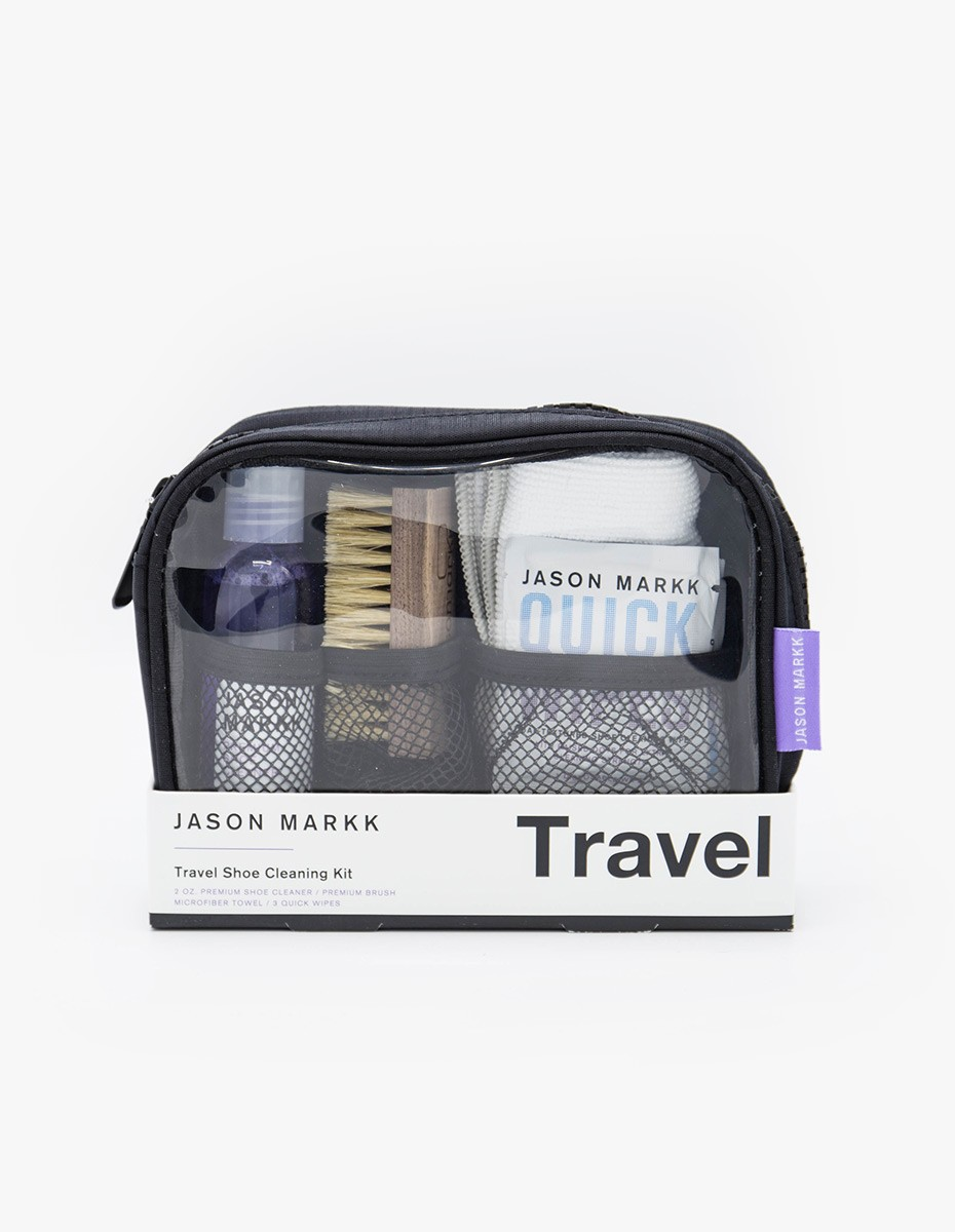 Jason Markk Travel Shoe Cleaning Kit in White