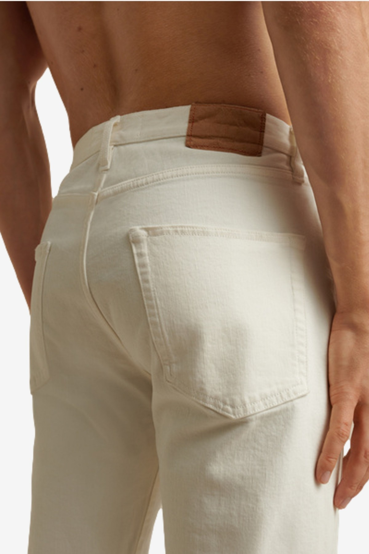 Jeanerica CM002 Casual Jeans in Natural White