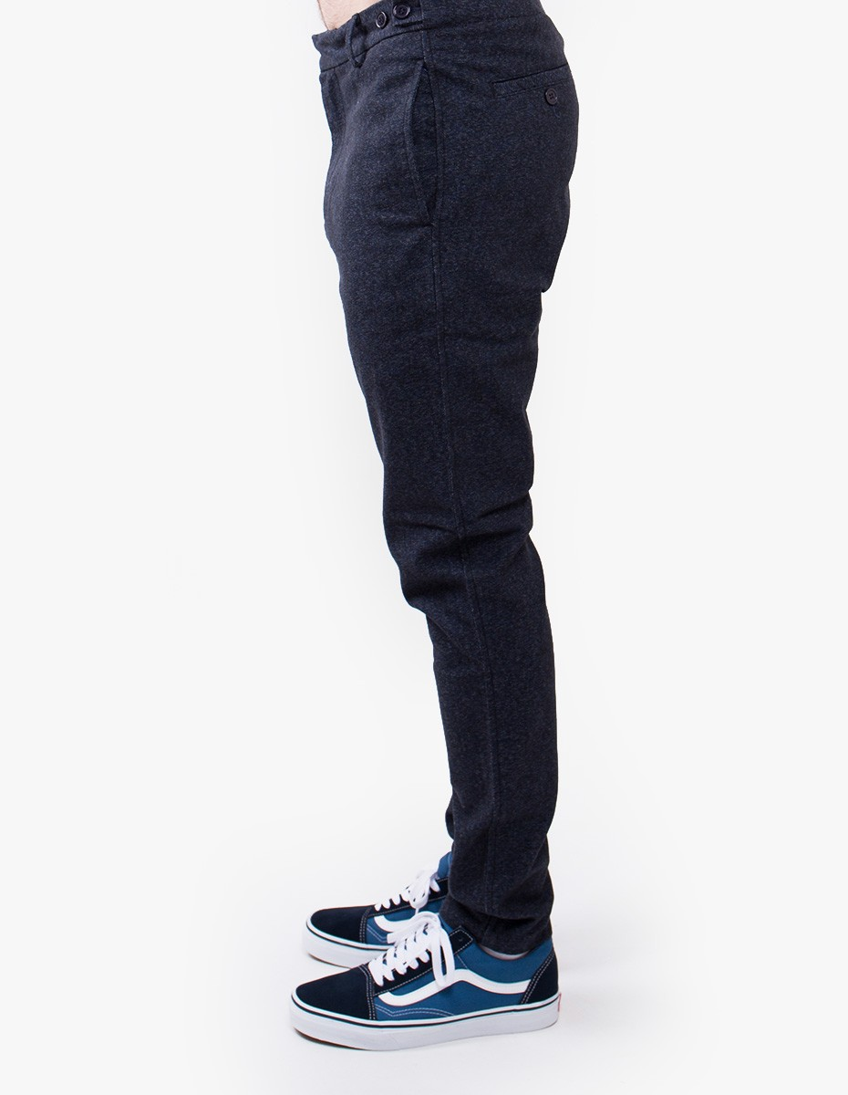 Fine Trill Pants in Navy