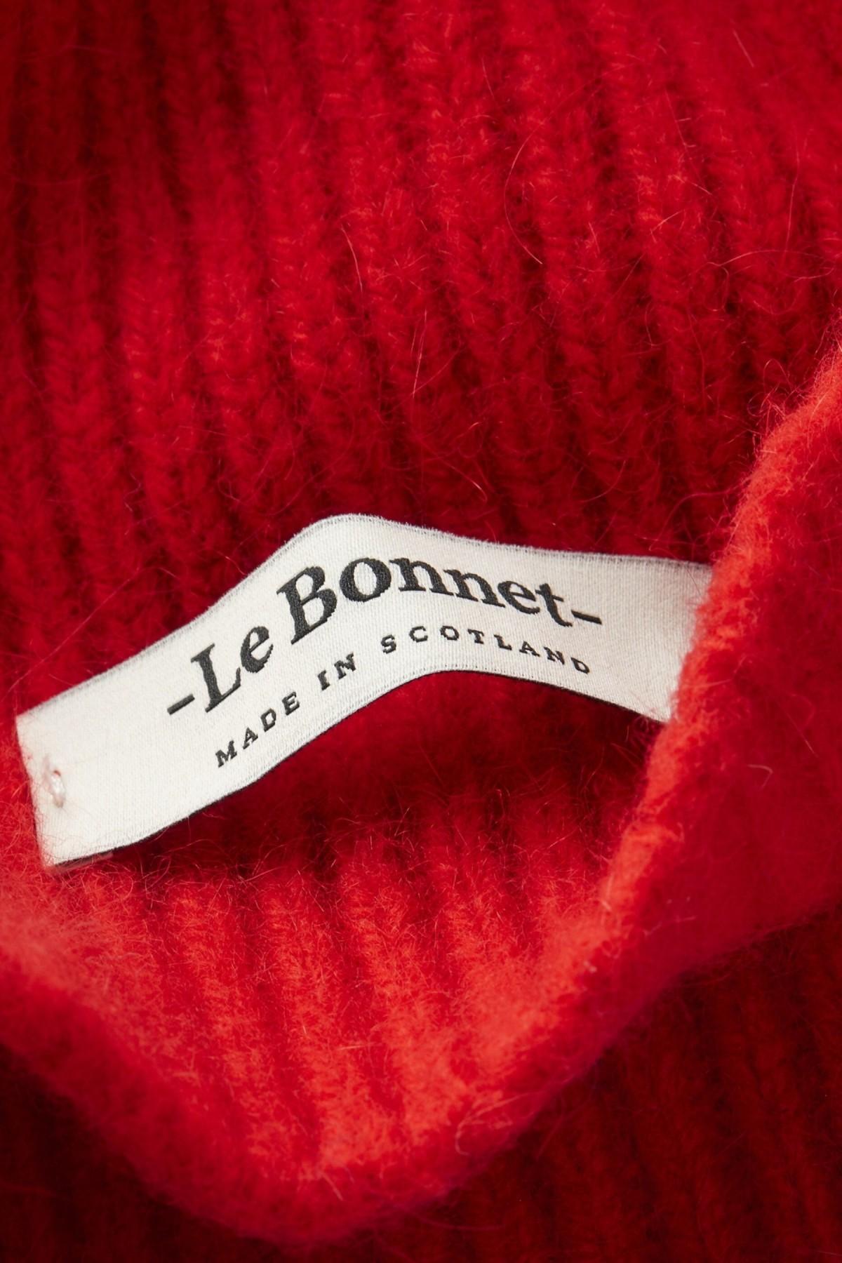 LeBonnet Beanie in Crimson