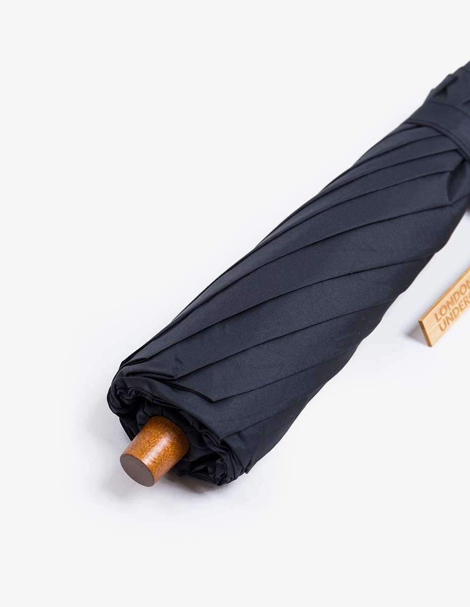 London Undercover Telescopic Umbrella in Dark Navy