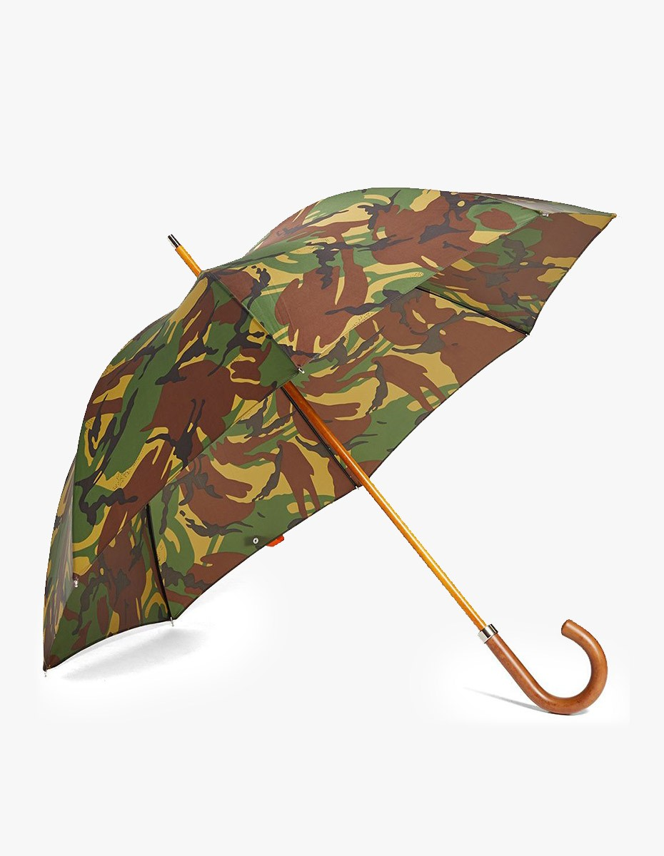 London Undercover British Woodland Camo Umbrella  in British Woodland Camo