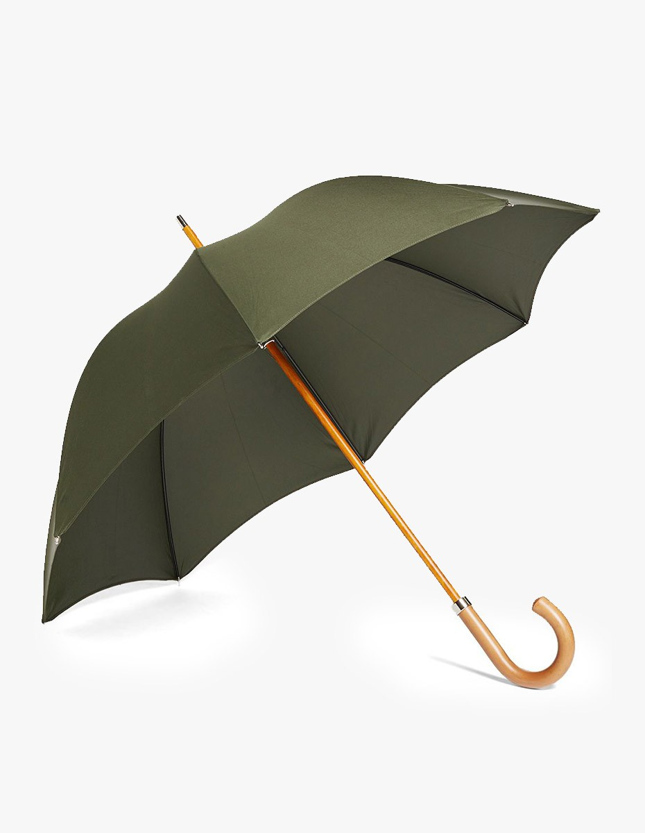 London Undercover City Gent Umbrella  in Defence Green
