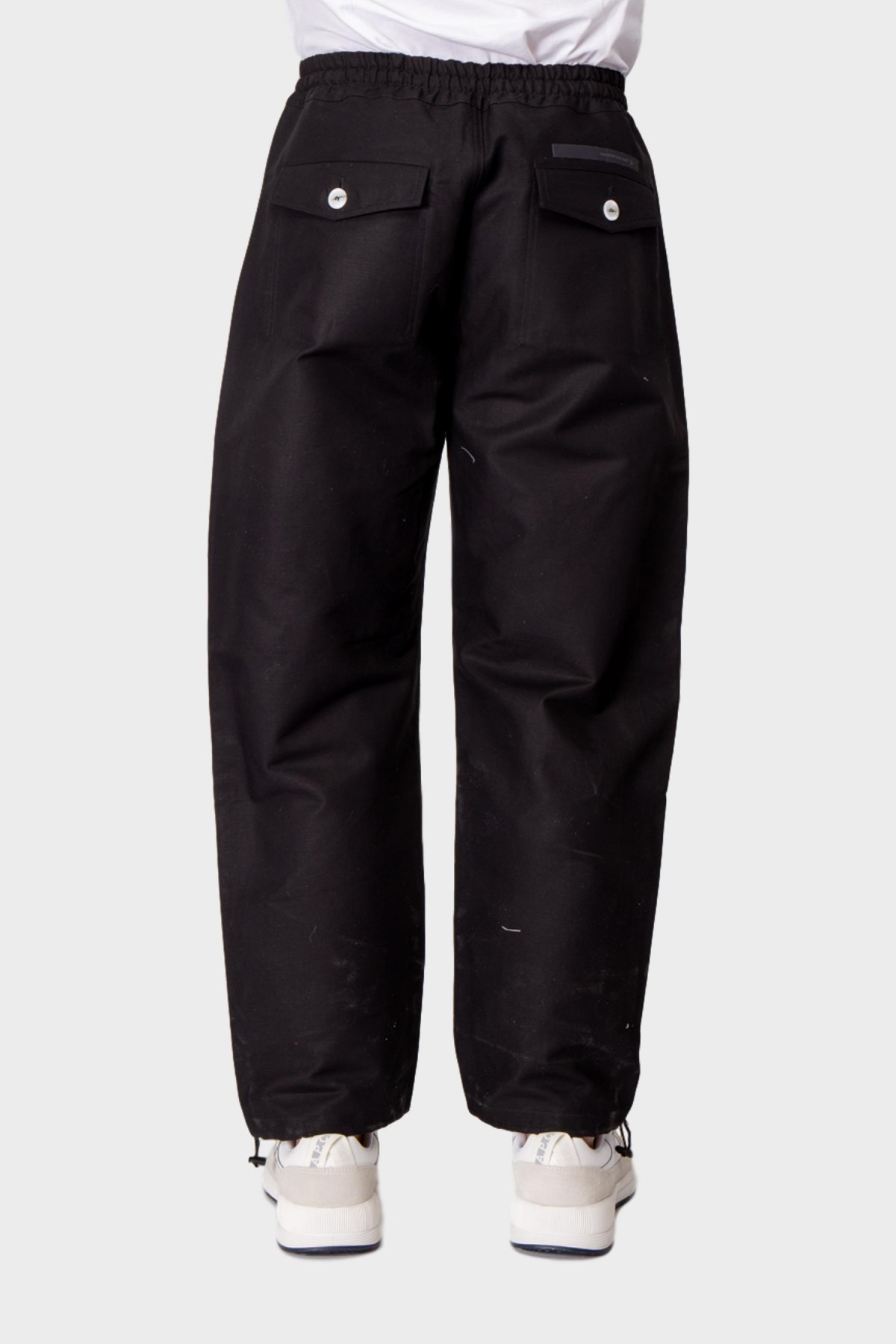 Maison Kitsuné Elasticated Pants in Black