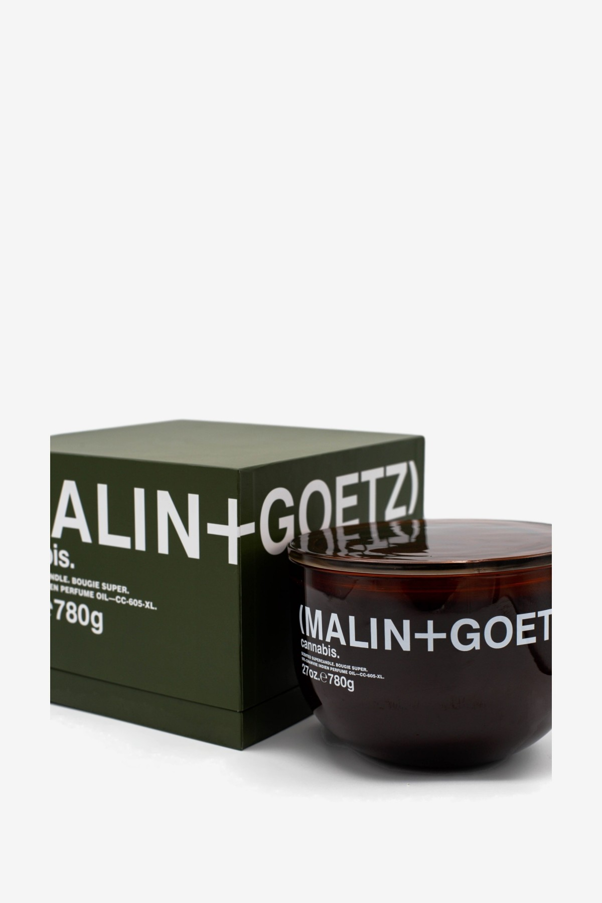 Malin+Goetz Cannabis Super Candle 780g in