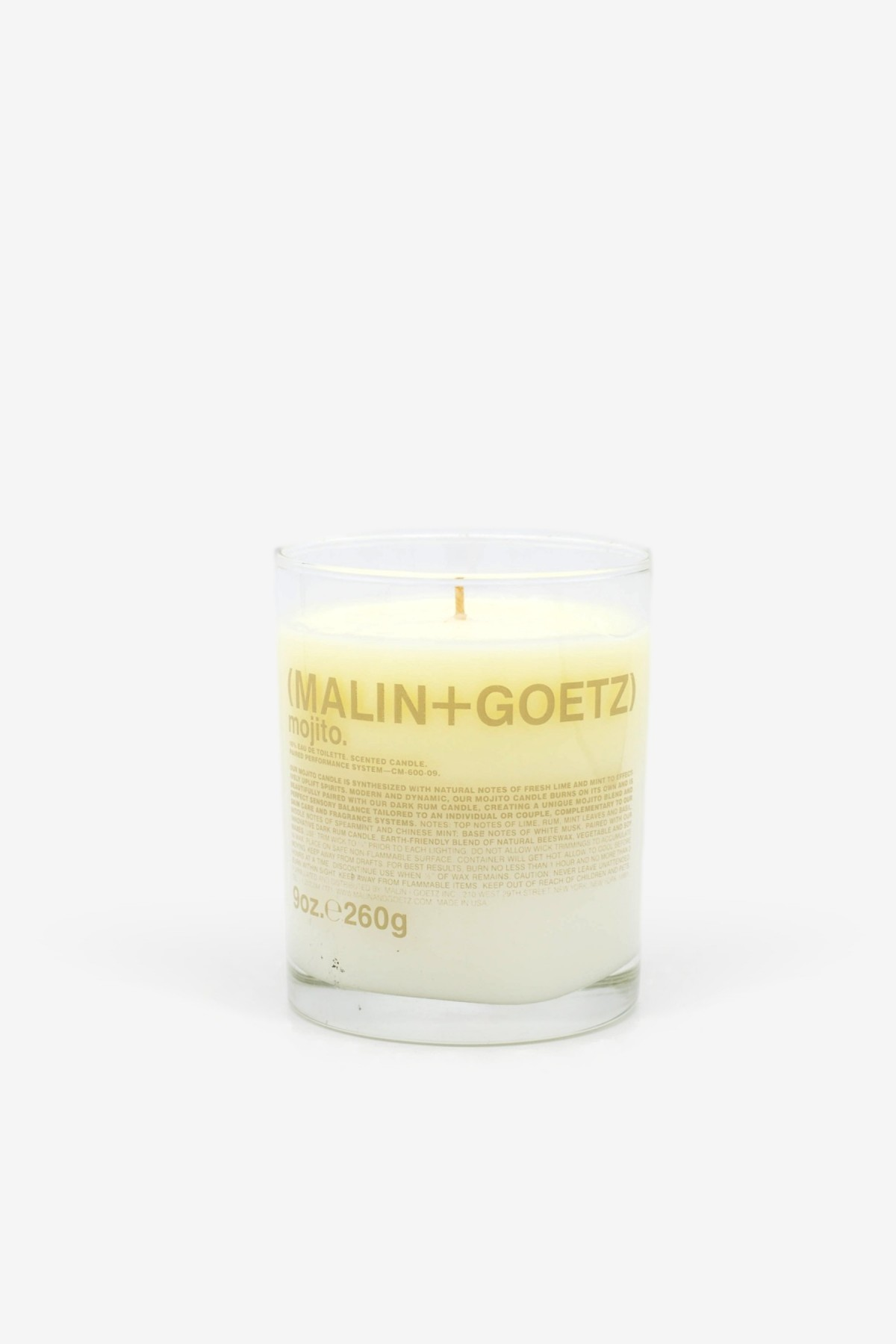 Malin+Goetz Mojito Candle 260gr in