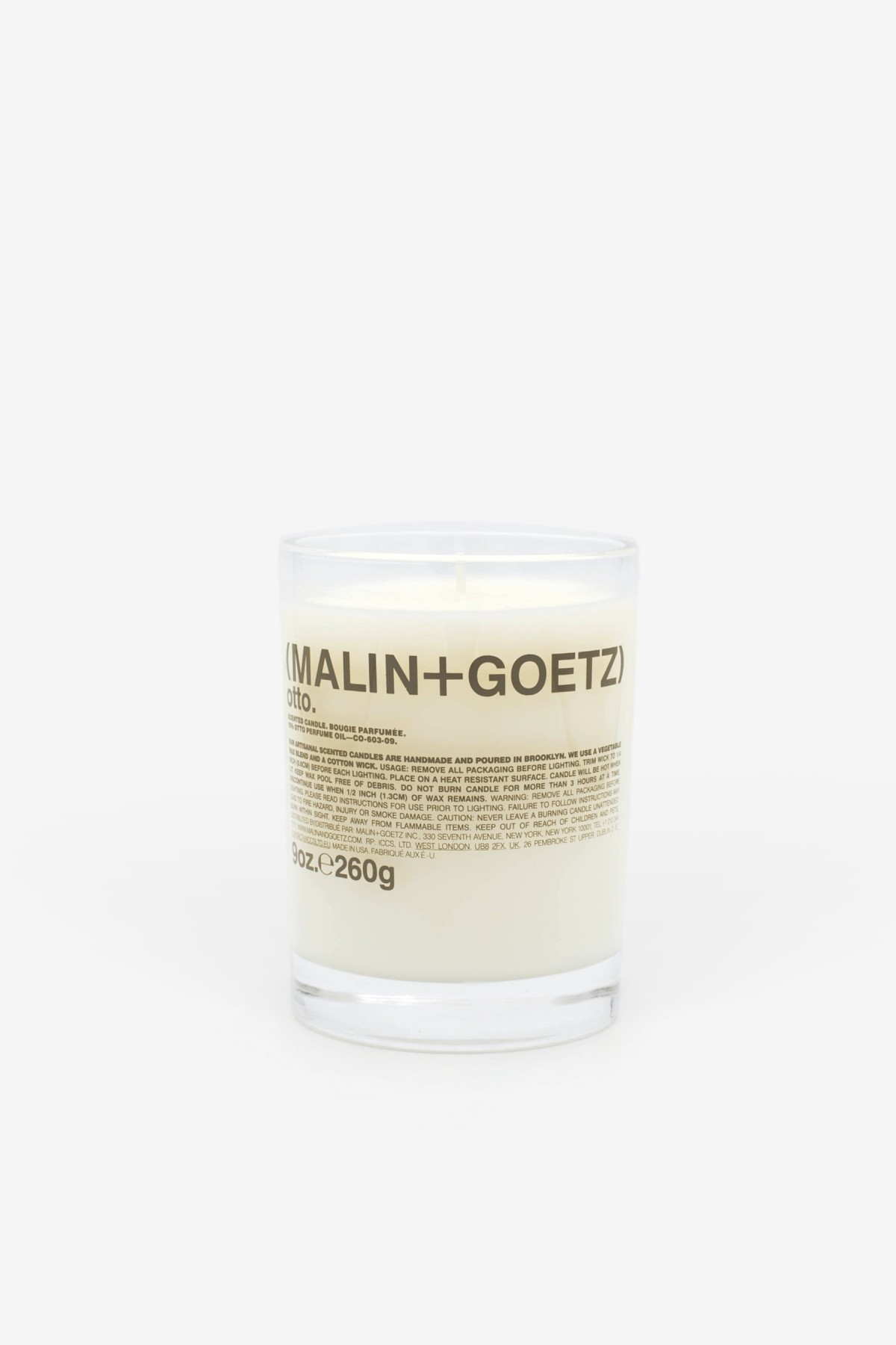 Malin+Goetz Otto Candle 260g in