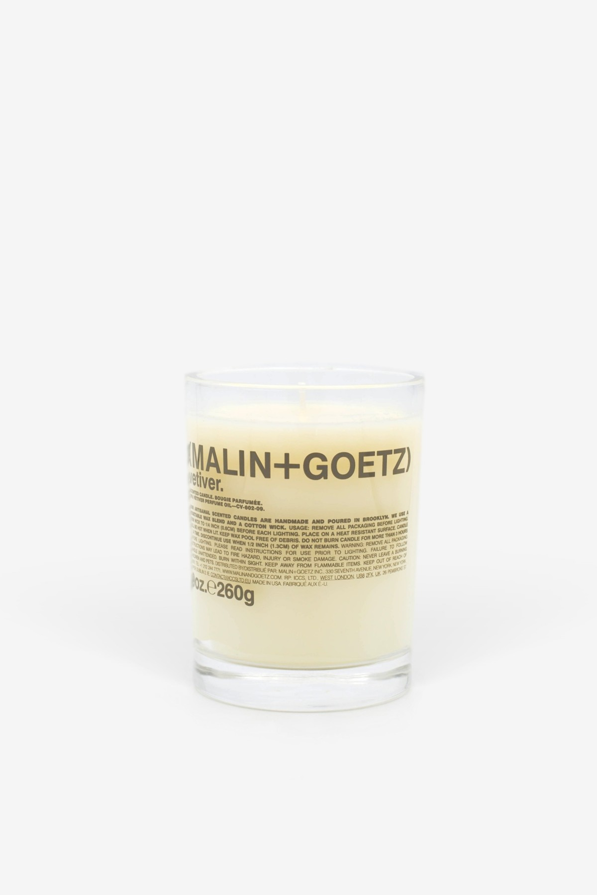 Malin+Goetz Vetiver Candle 260g in