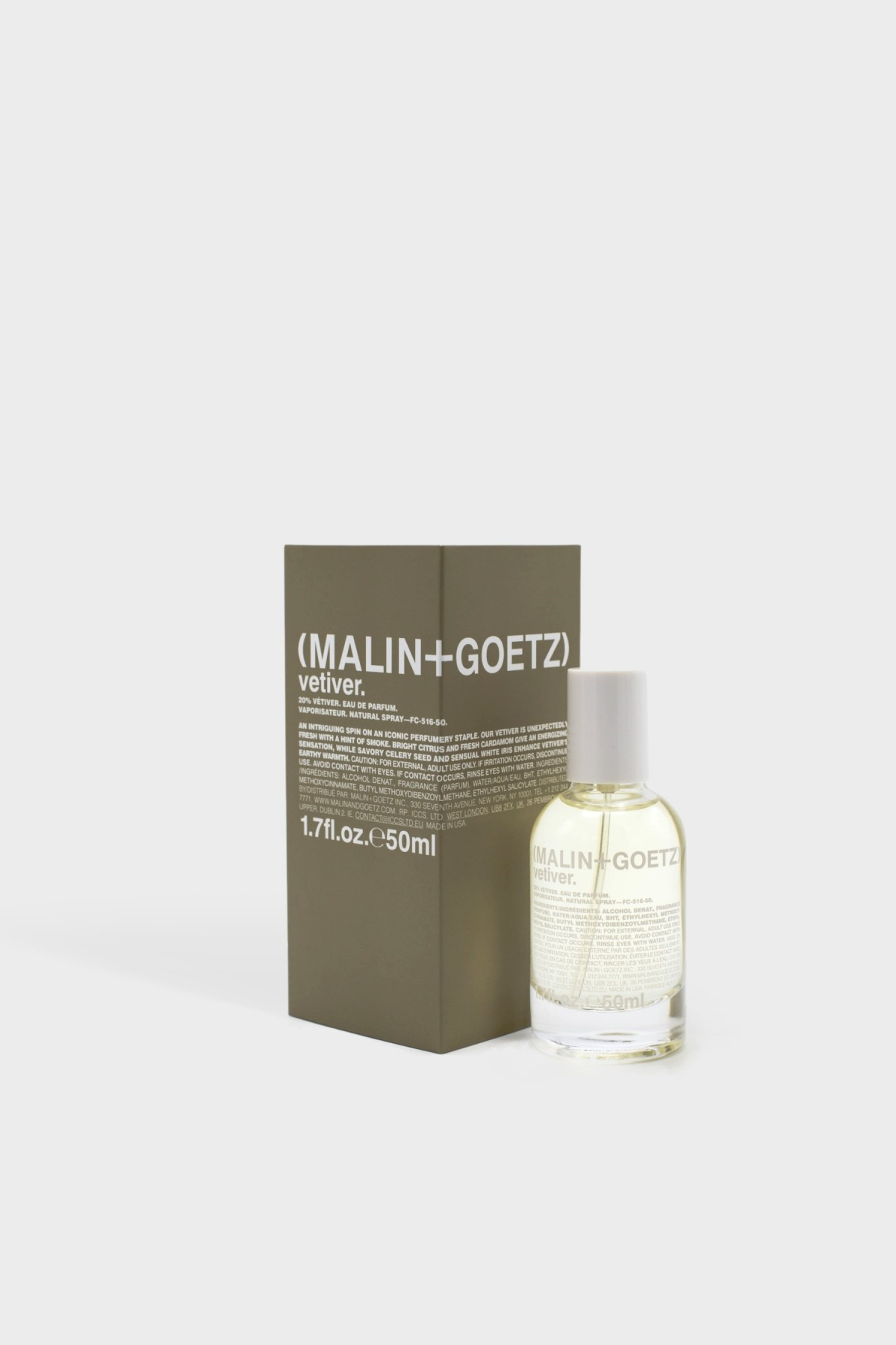 Malin+Goetz Vetiver Eau de Parfum 50ml in