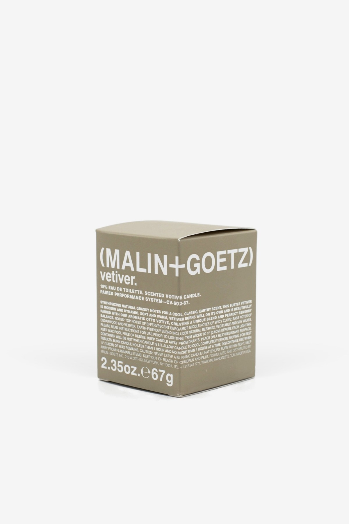 Malin+Goetz Vetiver Votive 67g in