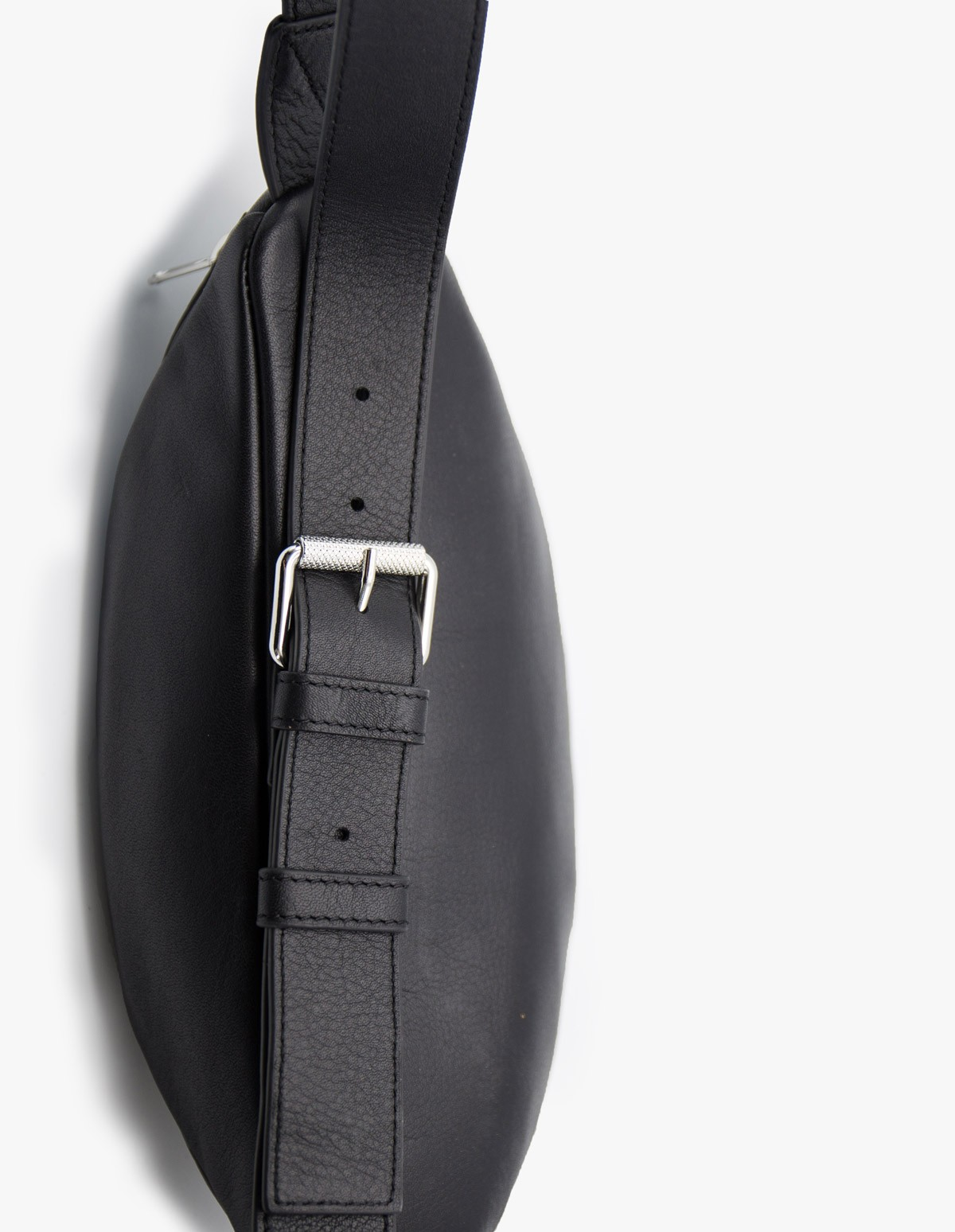 McQ Alexander McQueen Loveless Waist Bag  in Darkest Black