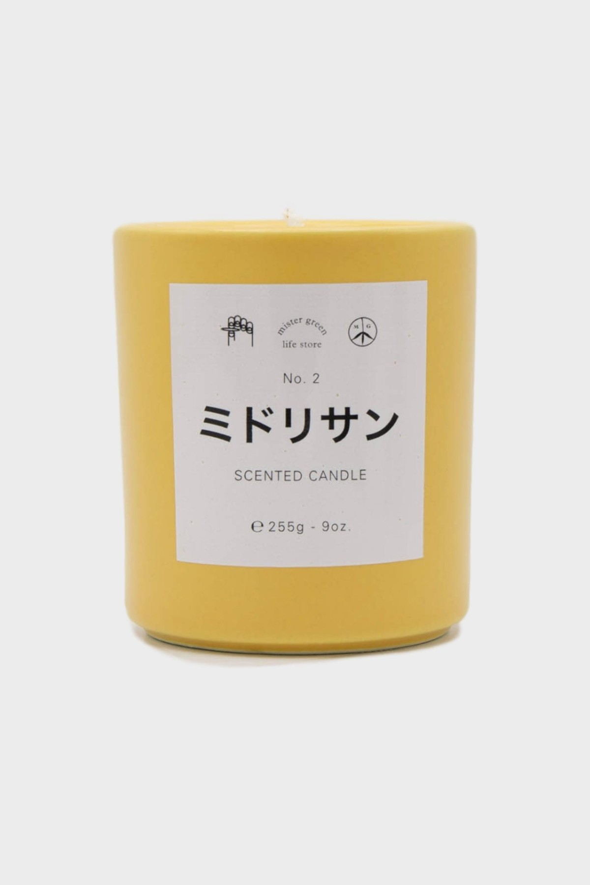 Mister Green Candle 2: Midori San in Neutral