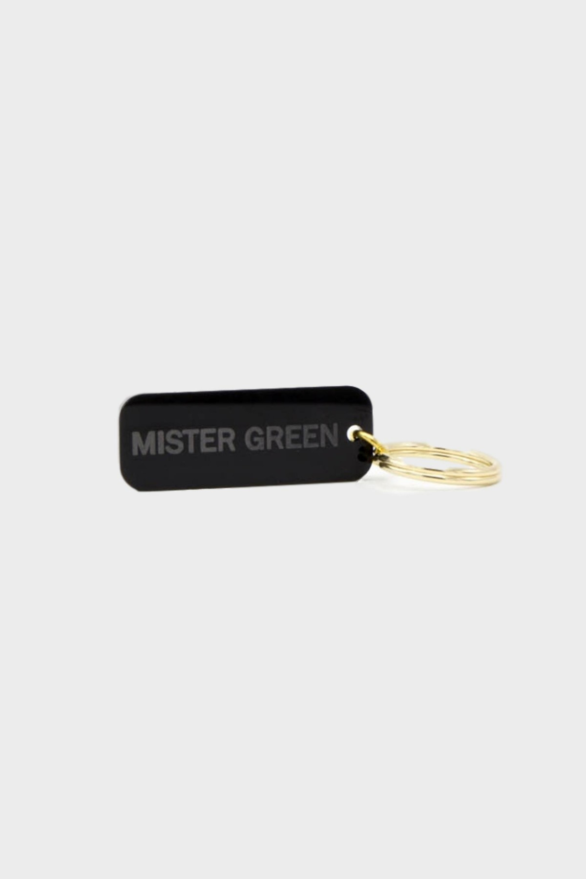 Mister Green I'm High LoL / Mister Green Key Tag in Black