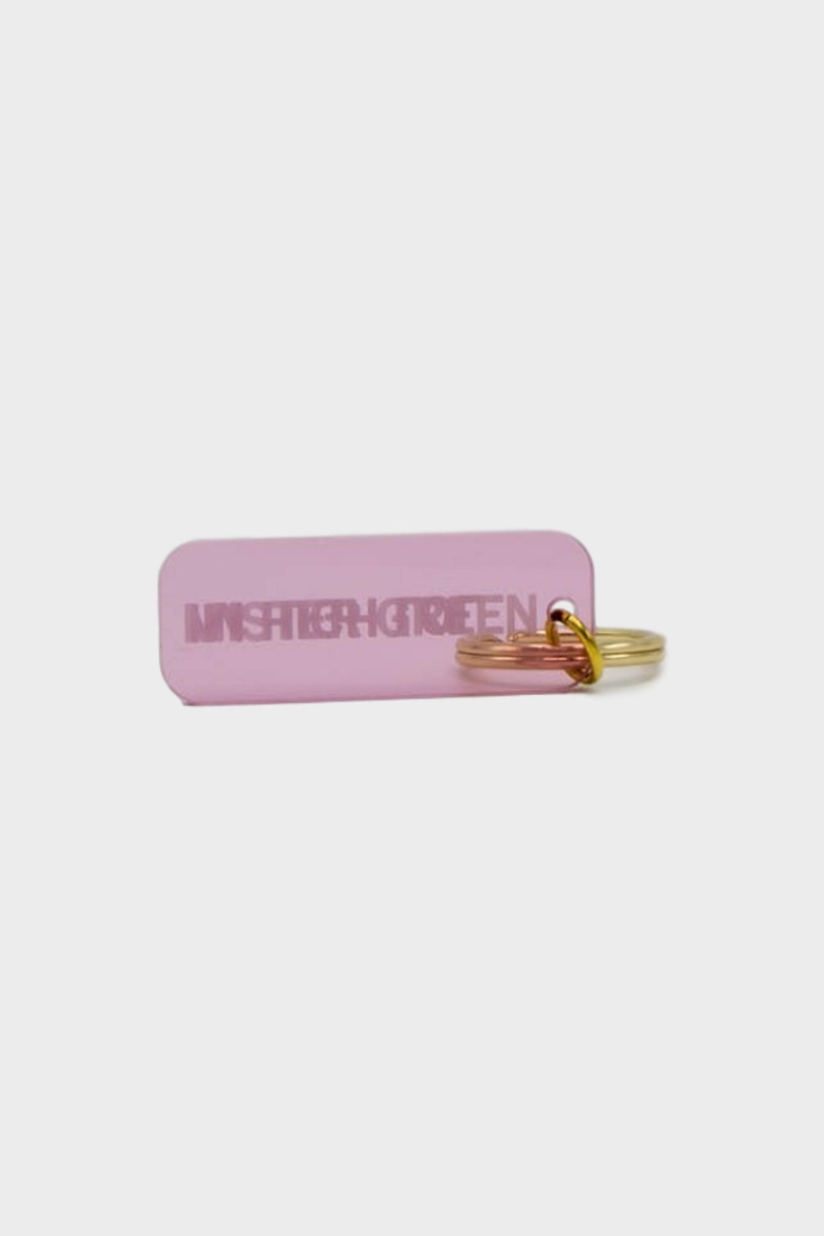 Mister Green I'm High LoL / Mister Green Key Tag in Pink