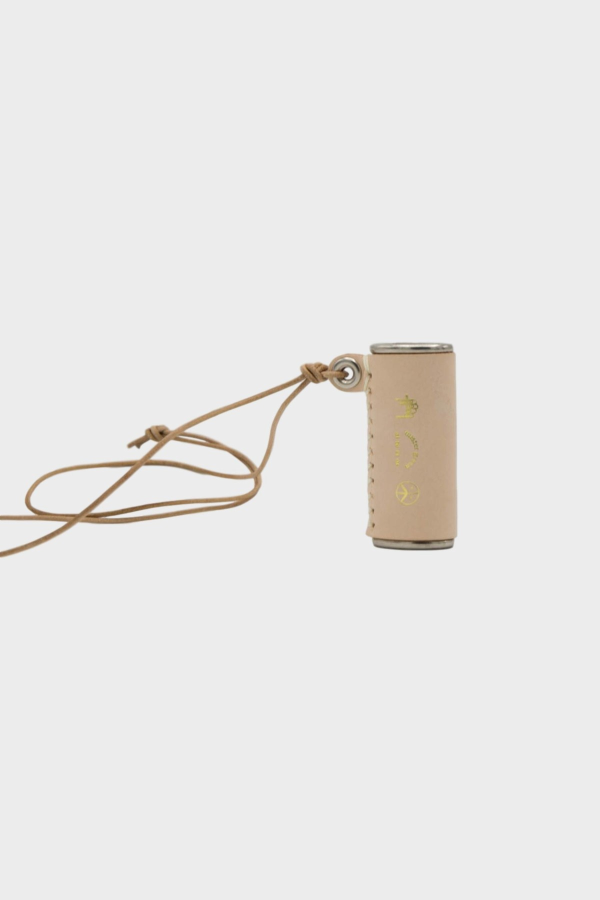 Mister Green Necklace Lighter in Natural Leather
