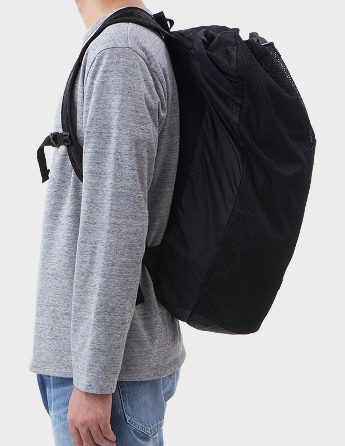 Nanamíca Packable Mesh Day Pack in Black