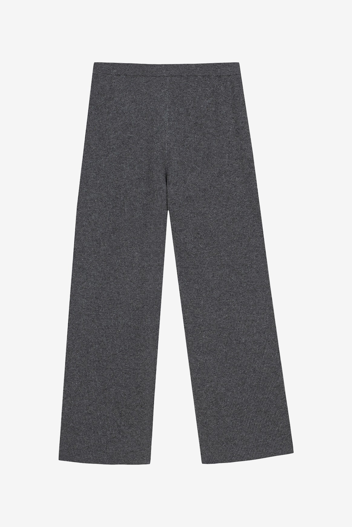 Nanushka Keira Knit Pants in Graphite