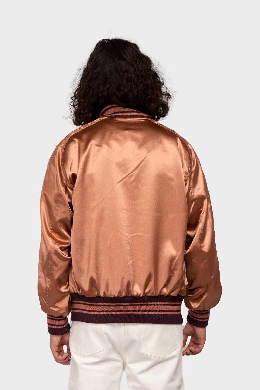 Needles Needles Award Jacket  in Brown