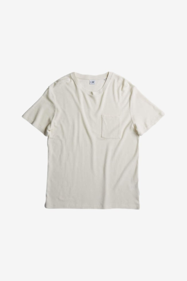 NN07 Clive Tee 3323 in Off White