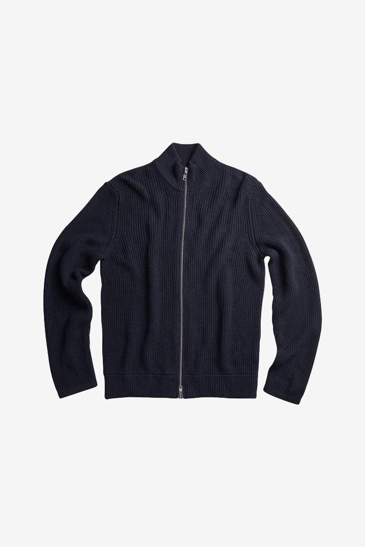NN07 Piet Zip 6371 in Dark Navy