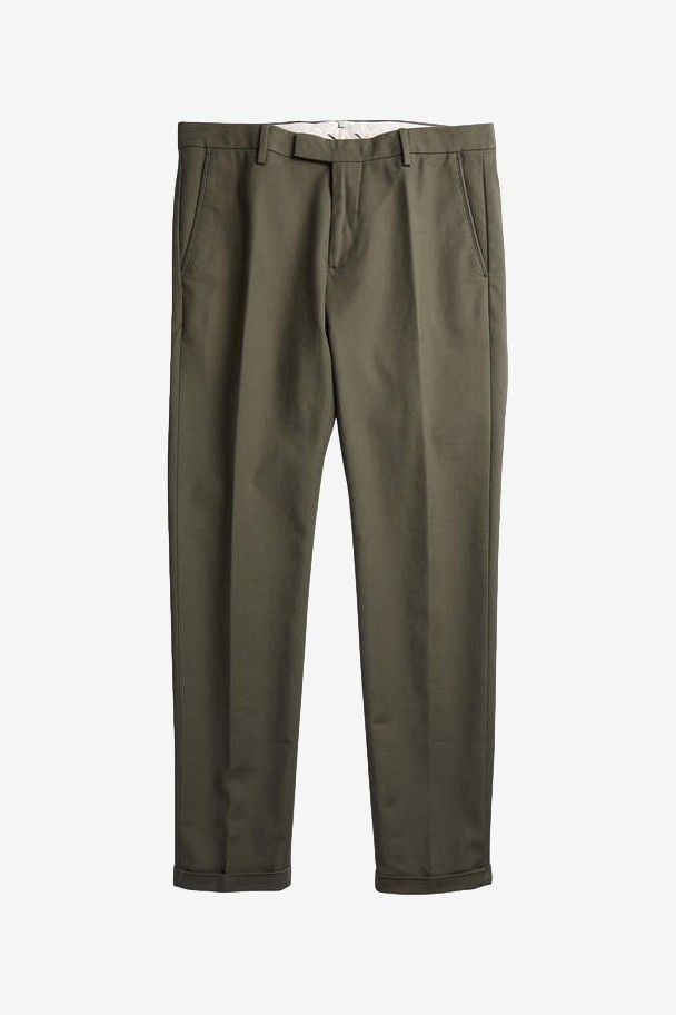 NN07 Scott 1386 Regular Cotton Chino in Army