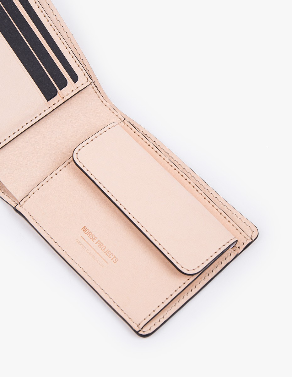 Norse Projects Bastian 12 Wallet in Natural