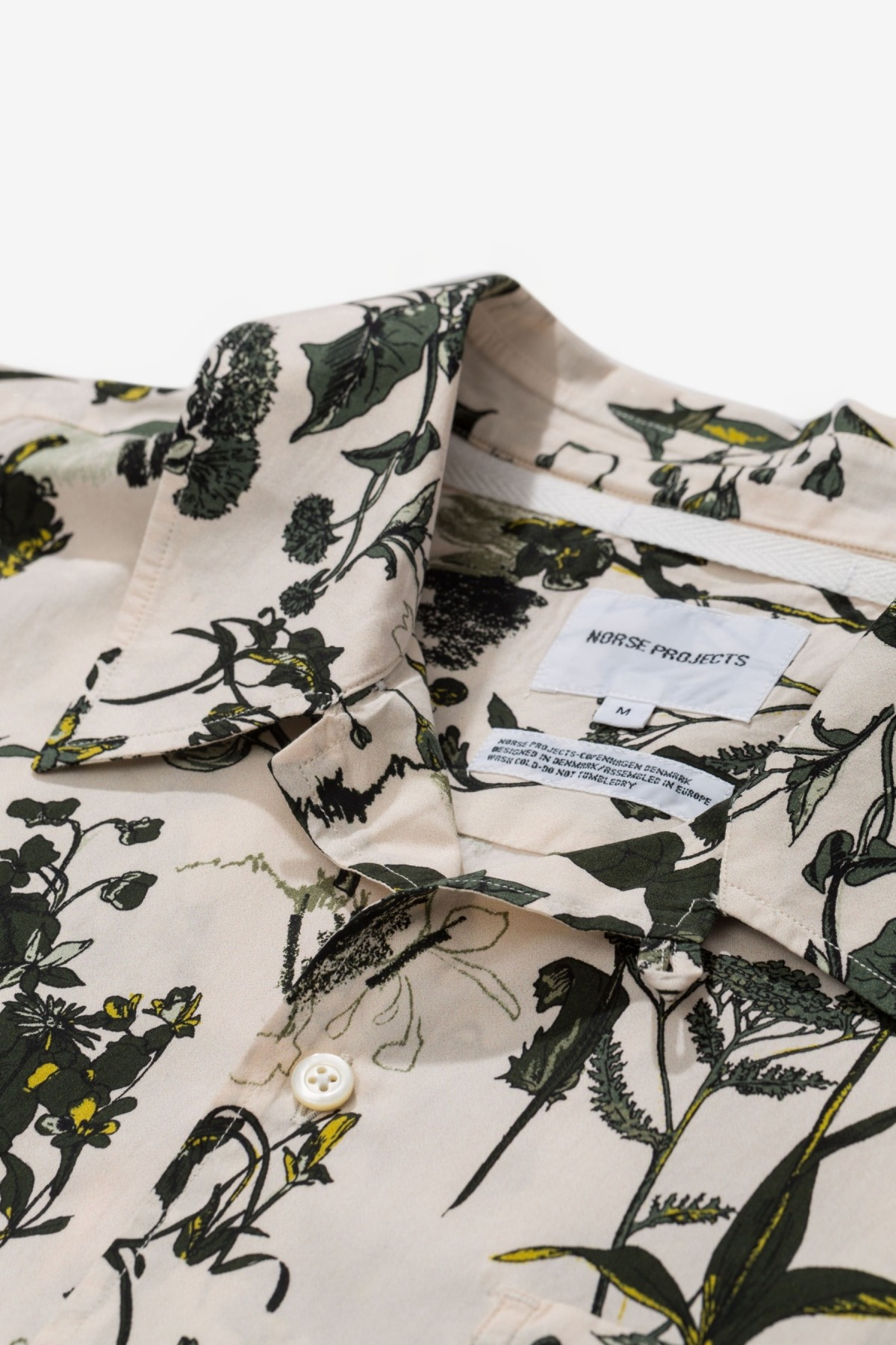 Norse Projects Carsten Print in Ecru