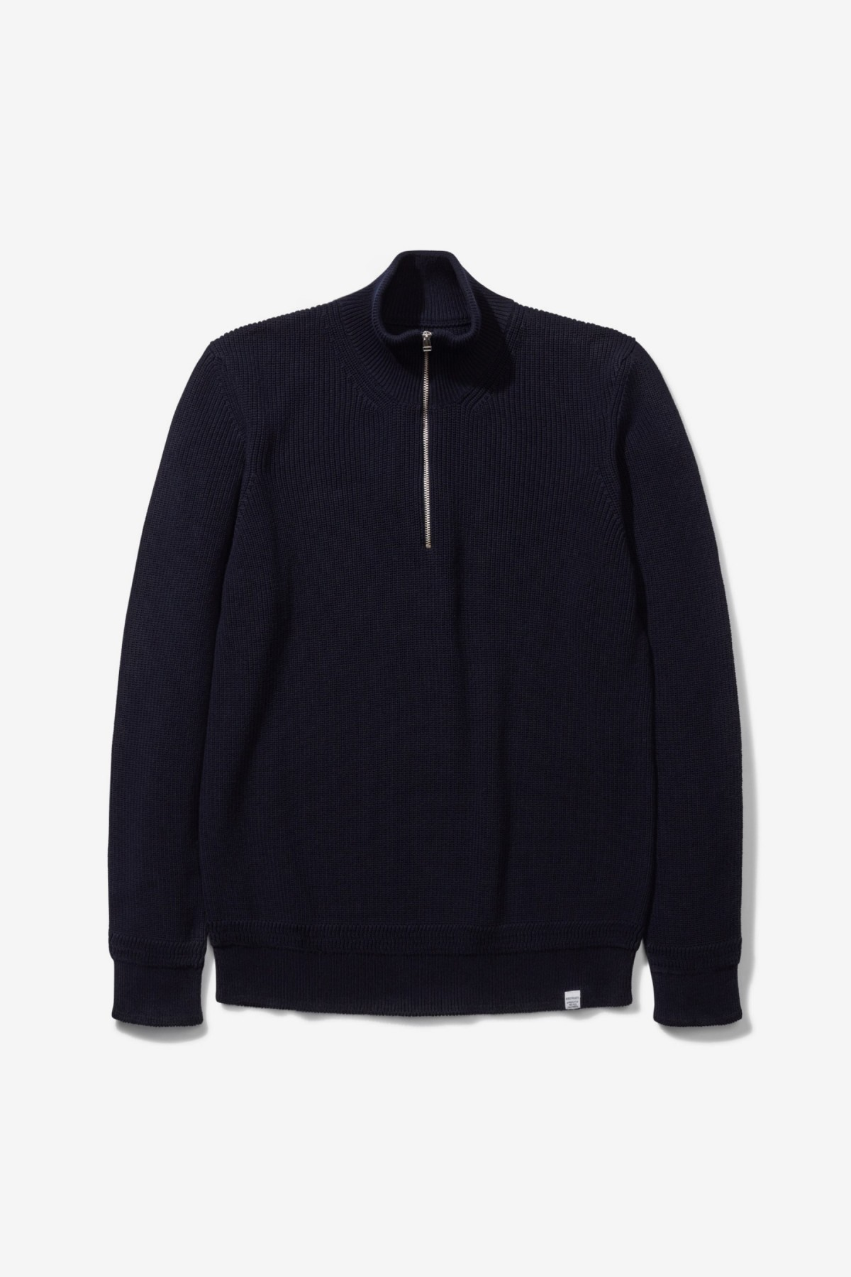 Norse Projects Fjord Guernsey in Dark Navy