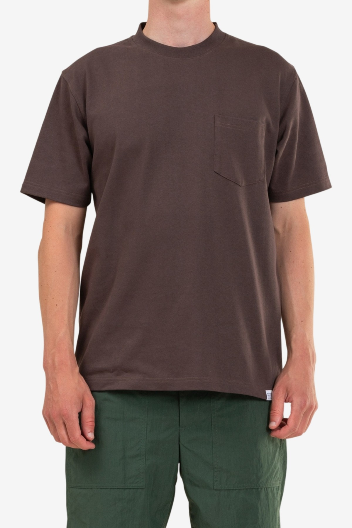 Norse Projects Johannes Pocket SS in Heathland Brown