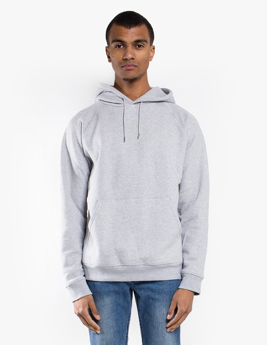 Norse Projects Ketel Summer Classic Hood in Light Grey Melange